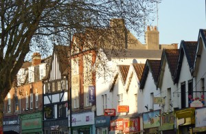 Gloucester Road shops March 27th 2012
